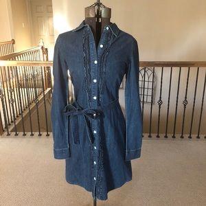 Tommy Hilfiger Long Sleeve Denim Dress